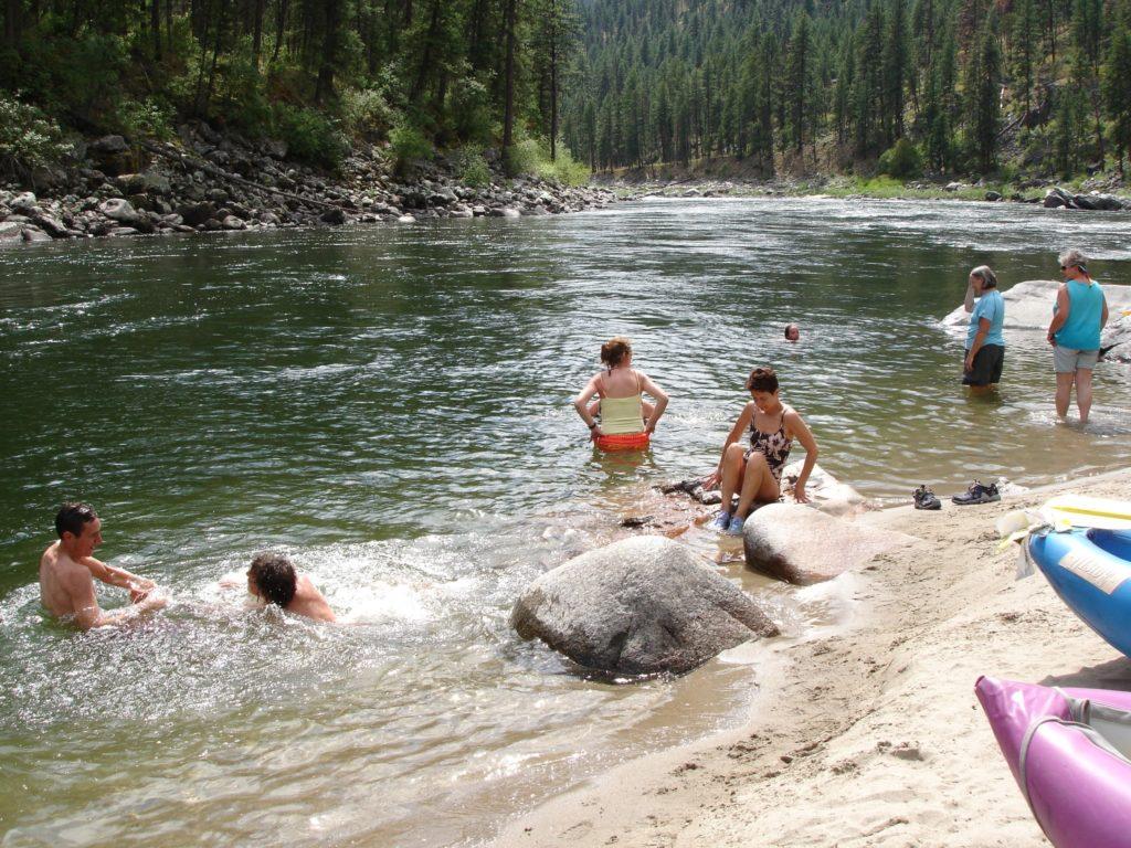 RiverSwimming